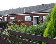 A Row of Bungalows near Seaham
